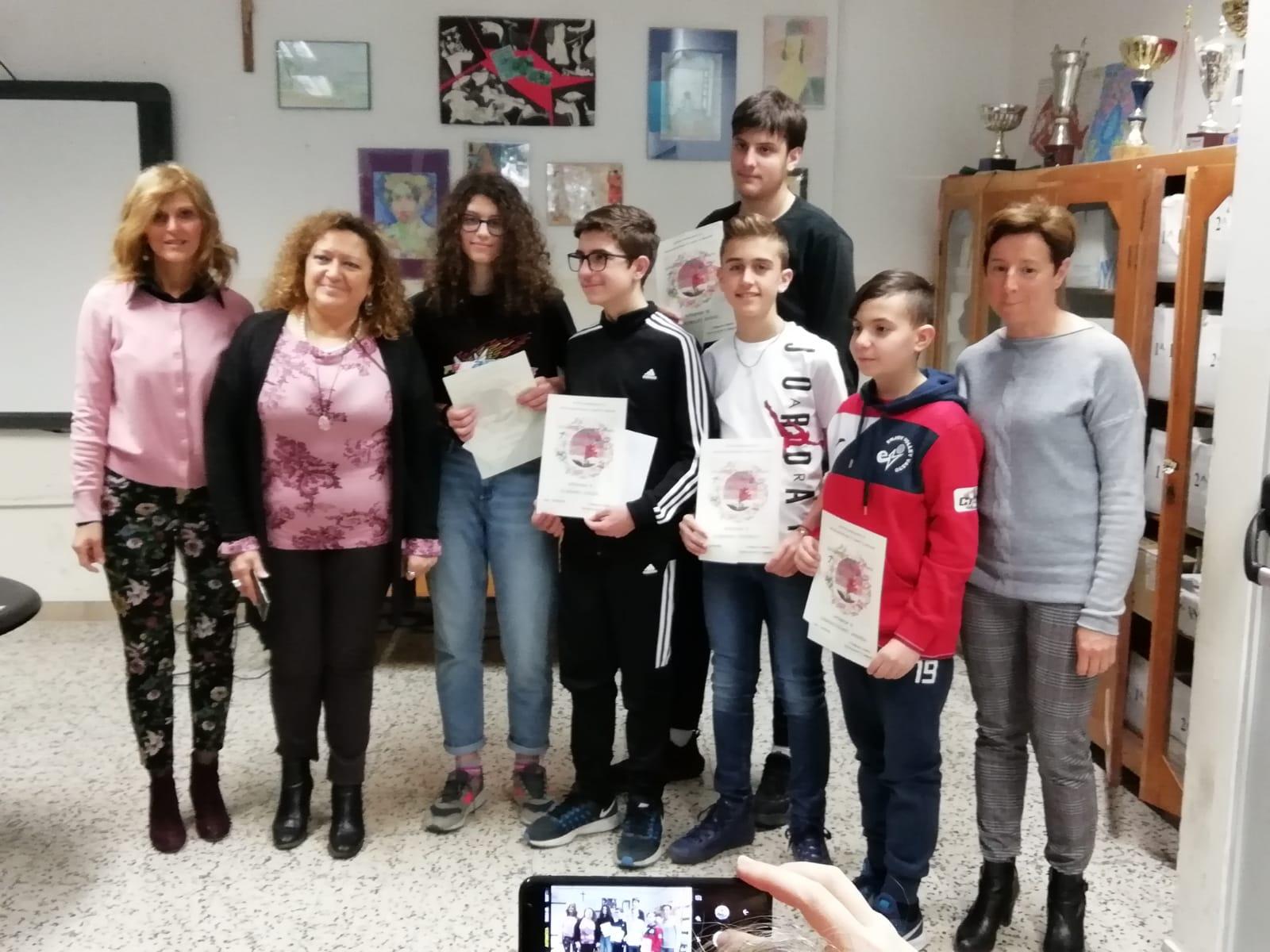 """I ragazzi delle Paolucci vanno alla finale nazionale dei giochi matematici """"Bocconi"""" I magnifici sei che amano la matematica"""