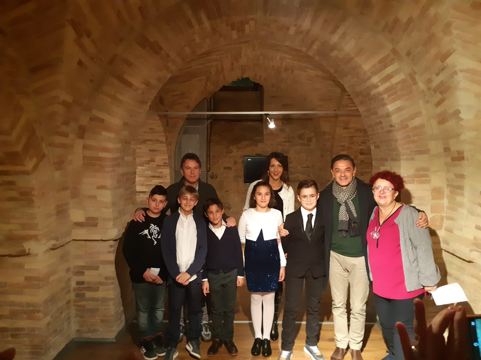 Anche il Comprensivo 1 di Vasto alla riapertura Sala Multimediale Enrico Mattei Con l'intervista a Enrico Mattei i ragazzi hanno voluto esprimere l'impegno e la determinazione di Mattei