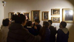 La quarta A e D in visita alla mostra del Palizzi  Gli occhi e la mente dei ragazzi si sono nutriti di un'arte senza paragoni