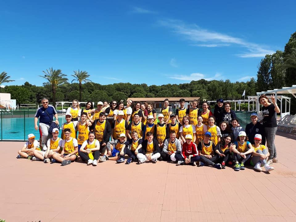 Galleria viaggio d'istruzione beach&volley school a Scanzano Jonico.