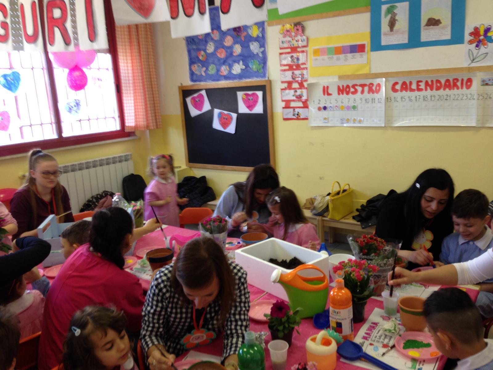 """Mamme in festa nella Scuola dell'Infanzia """" Giuseppe Spataro"""" dell'I.C. 1 Vasto"""