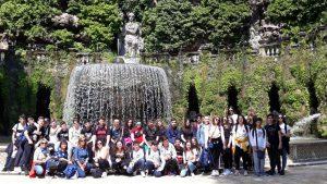 Uscita didattica del giorno 24/05/2019 presso l'Agenzia Spaziale Italiana Roma e Villa d'Este Tivoli