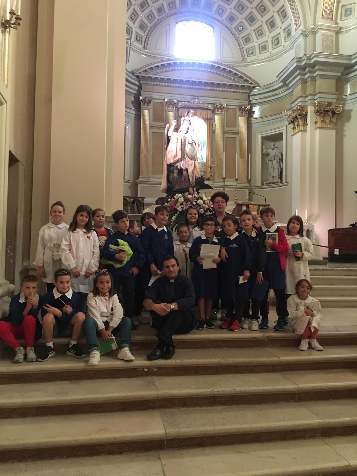"""San Michele è argomento di studio nella Scuola """"G. Spataro"""" di Vasto. Attività interdisciplinare tra Storia, Geografia, Religione e Tradizione"""