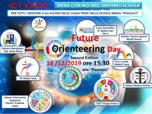 "Future Orienteering Day 18 /12/2019 ore 15.30 alle ""Paolucci"""