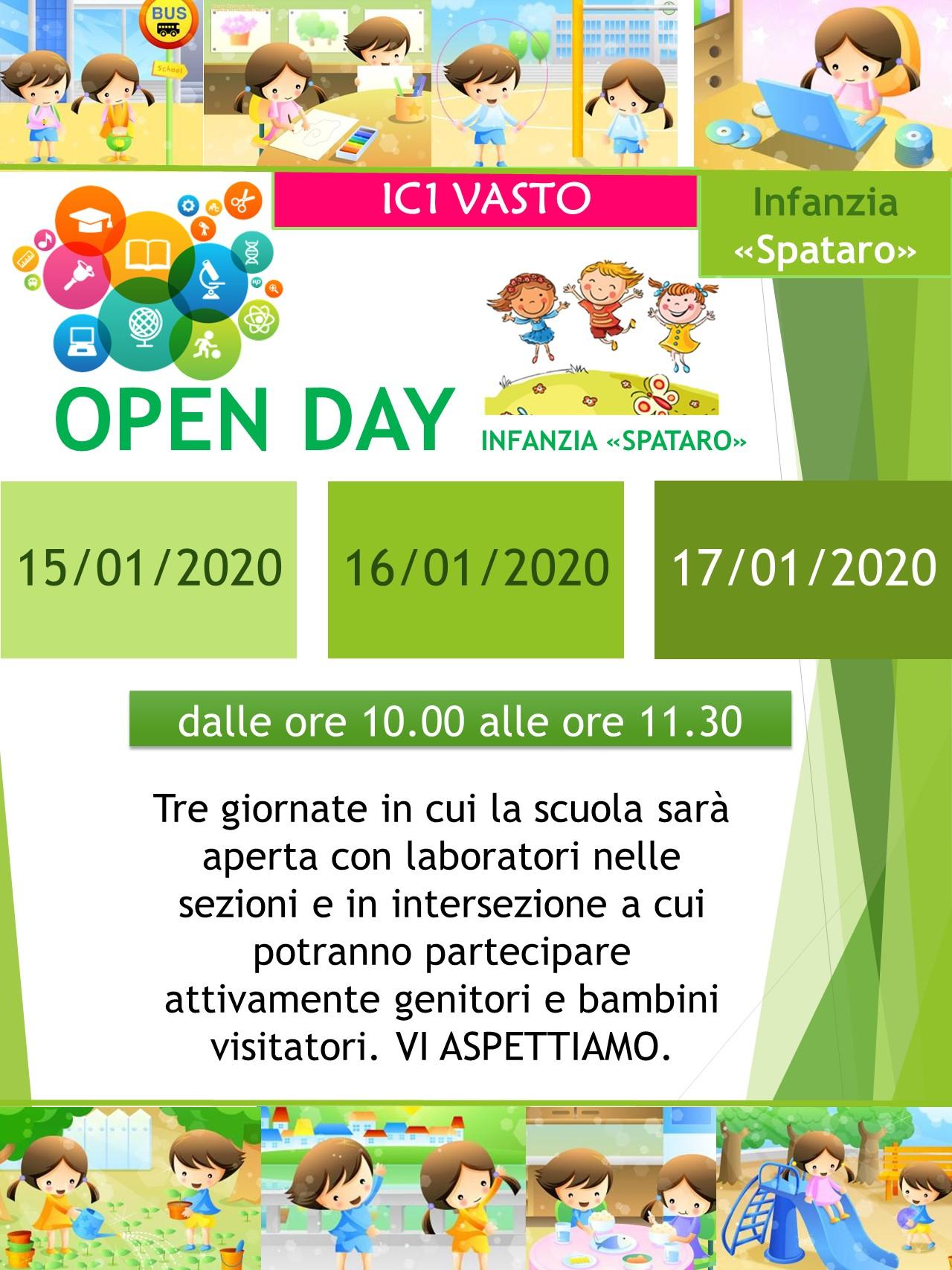 Scuola: è' tempo di iscrizione! Tante iniziative per l'Open Day alla Spataro e Paolucci di Vasto