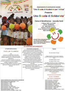 Una scuola di solidarietà