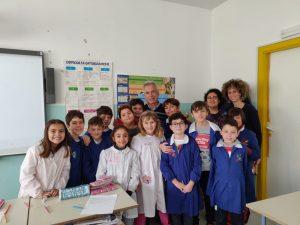 A Scuola di Solidarietà alla Spataro IC1 di Vasto – I ragazzi conoscono Ottavio Antenucci presidente dell'ass. Vita e Solidarietà