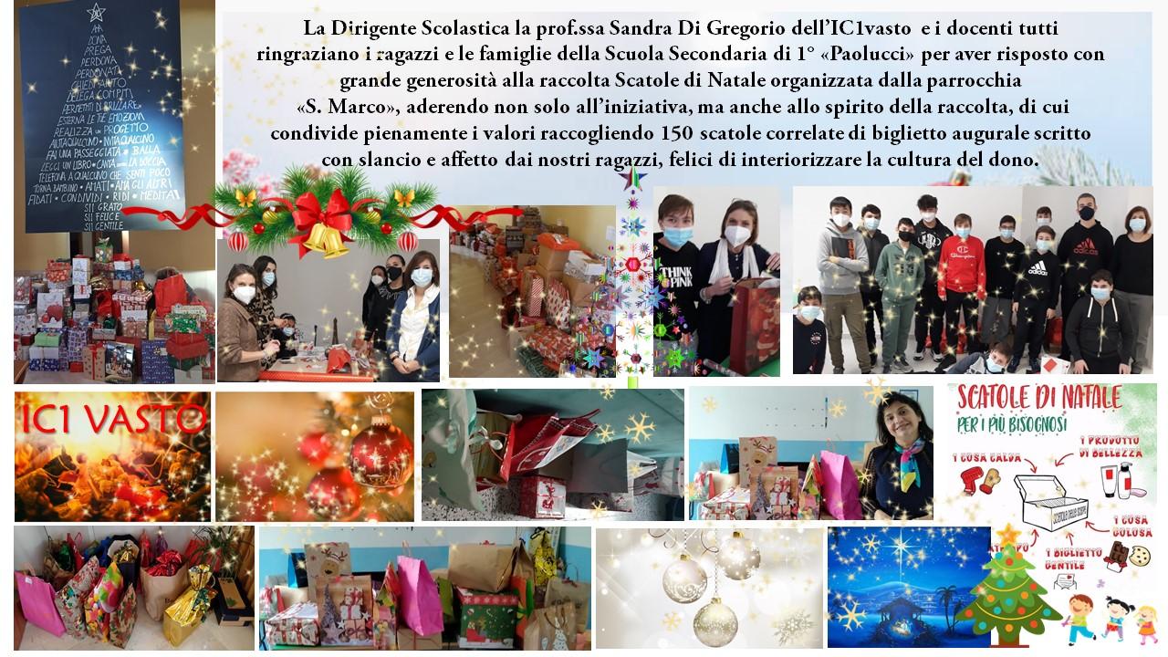 """Ringraziamenti ai ragazzi e alle famiglie per la piena partecipazione all'iniziativa di solidarietà della parrocchia """"San Marco"""""""
