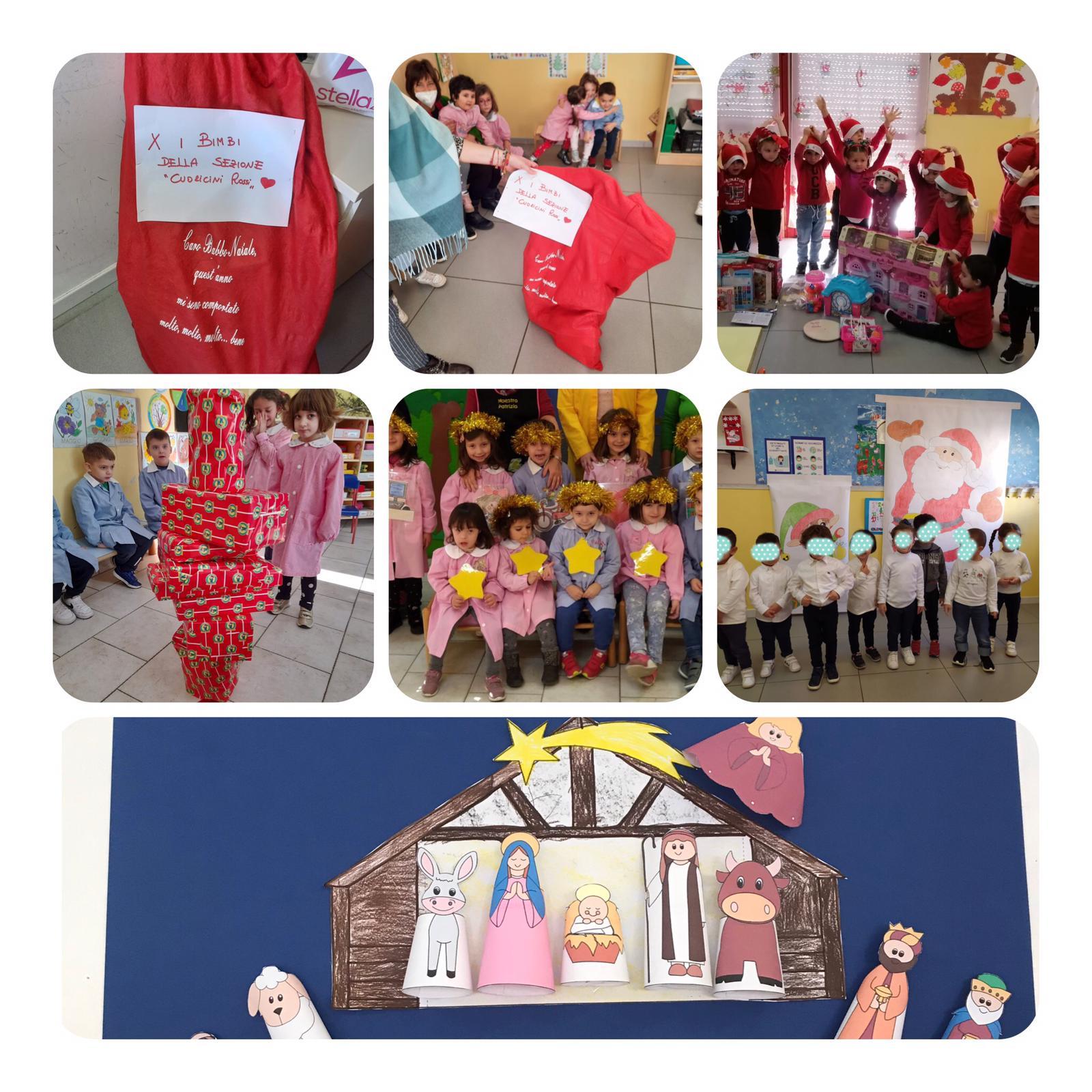 """Grande entusiasmo nelle tante attività natalizie organizzate dalla Scuola Dell'Infanzia """"G. Spataro"""" IC1 Vasto"""