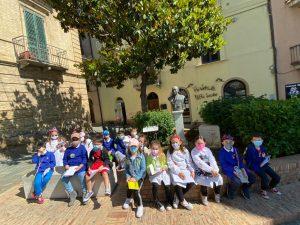 Alla scoperta del centro storico di Vasto per i bambini della 2C della Spataro